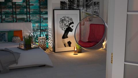 Bubble Chair - Bedroom - by _Wanderlust_