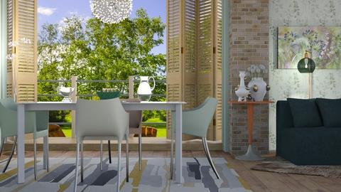 M_ Alium - Dining room - by milyca8