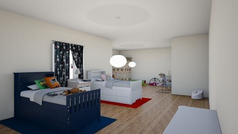 kids bedroom 2 - by maritaaslamazashvili