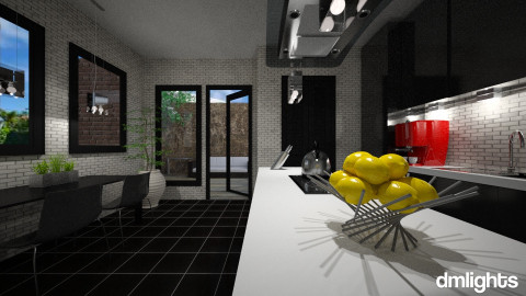 ModernKitchen - Kitchen - by DMLights-user-1104016