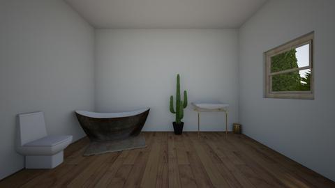 ivy bathroom - Bathroom - by BLOBy2