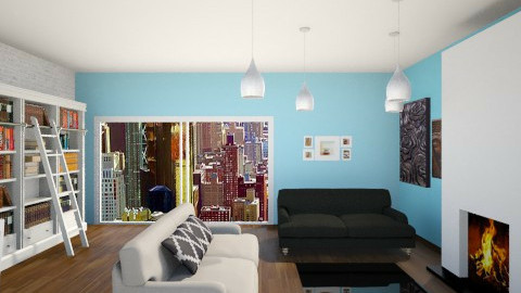 living modern room - Modern - Living room - by Lourdes Novillo Lucas Vaquero
