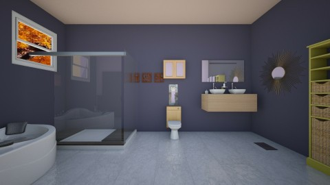 cuarto de bano - Bathroom - by Kristal McFadden