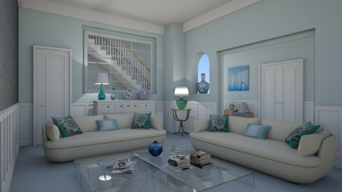 Esther Artole - Eclectic - Living room - by Elena68