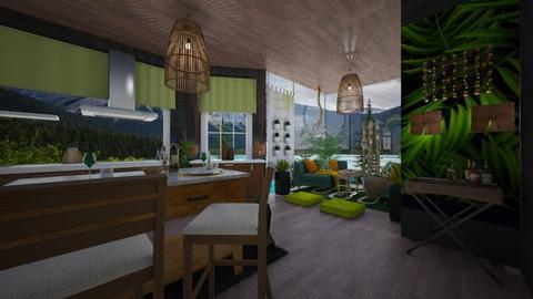 jungle - Kitchen - by Gena1310