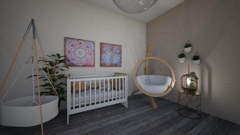 Boho nursey room - Kids room - by Denisa250
