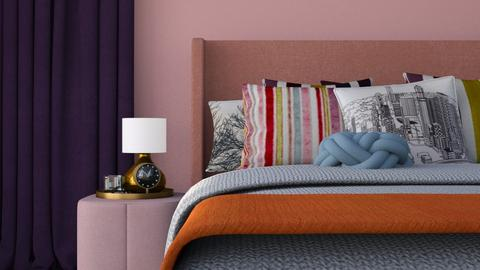 Colours - Feminine - Bedroom - by HenkRetro1960