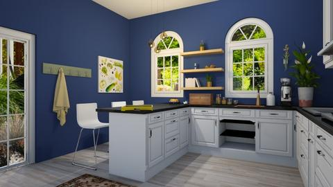 country garden kitchen - Kitchen - by charlient