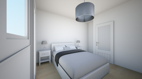 juustyna sypialnia - Minimal - Bedroom - by juustyna