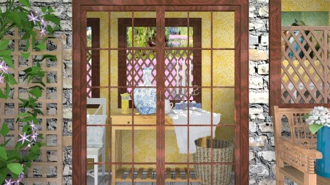 Provence - Rustic - Garden - by hetregent