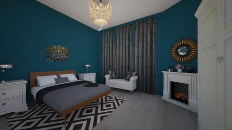 Bedroom - Minimal - Bedroom - by sesidees