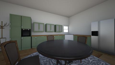 FRIENDS apartment - Kitchen - by Ellie McLay