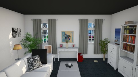 Dark but Bright - Living room - by dominaqq