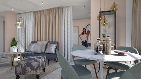 Urik - Living room - by chania