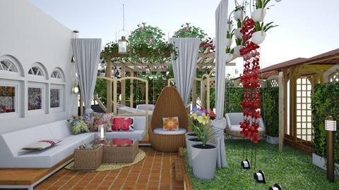terrace - Modern - Garden - by nat mi
