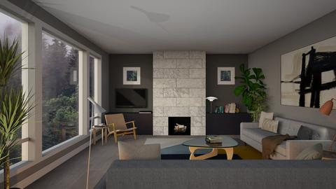 The Klincks 2 - Living room - by dwark