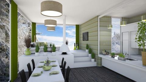 v - Living room - by Anet Aneta Kucharova