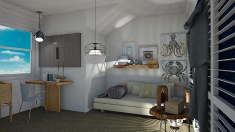 Seaside - Modern - Bedroom - by The quiet designer