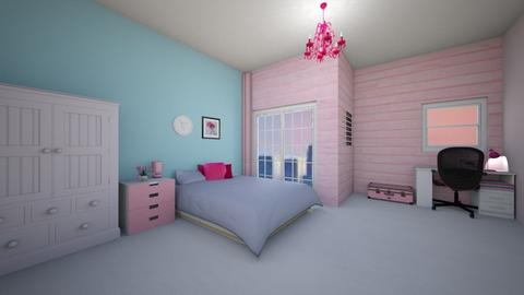 pink - Bedroom - by Metapor Tammapot