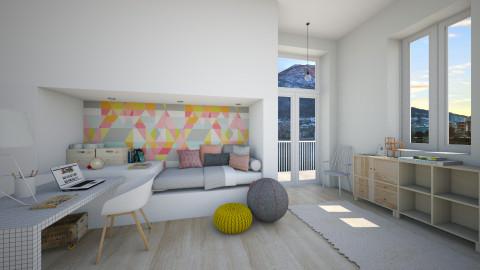 The Hideout - Global - Bedroom - by Maria Esteves de Oliveira
