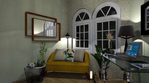 Reading Corner - Living room - by zenaalomran