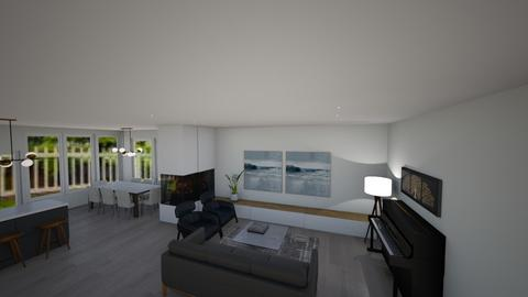 Wold - Living room - by Real Teal designs