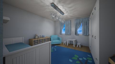 Pokoj dzieciecy - Kids room - by Musera