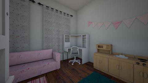 kids room 1 - Kids room - by hallefran