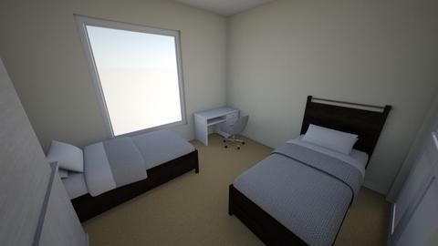 muskaan bedroom - Bedroom - by gurnoorgill