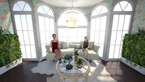 Fancy Sitting Room - Glamour - Living room - by LittleBeauPeep