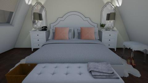 cozy glam - Bedroom - by designerm