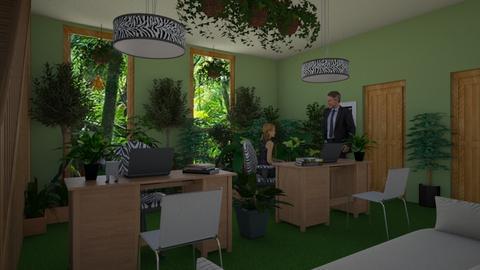 Urban jungle office - by ilcsi1860