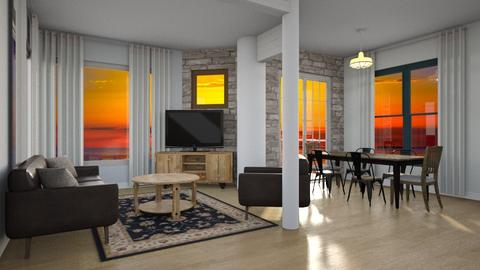Beach House Main Room - Living room - by Dylans17213
