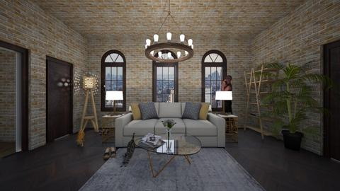 nyc apartment 3 - Living room - by cguy67