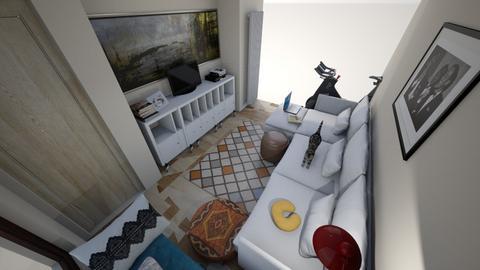 Onze zaal - Feminine - Living room - by DjamilaKari