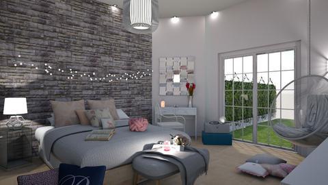 Oda - Bedroom - by zenaalomran