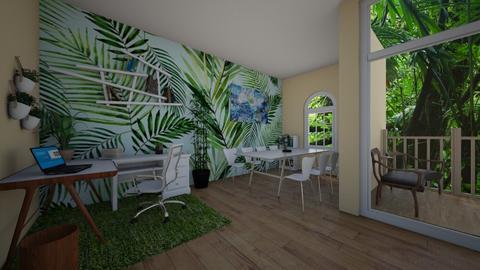 office jungle - by punbrowansis