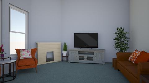 brown orange - Modern - Living room - by jessetobu