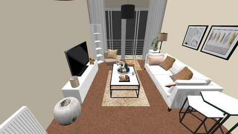 ApartmentInspo - Living room - by hafsie