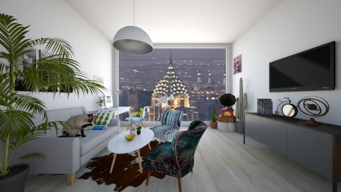 NY - Living room - by aleksandarmaric999