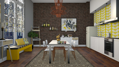 Touch Of Retro - Retro - Kitchen - by janip