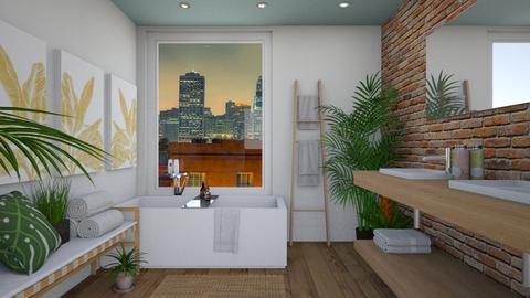 Urban Jungle Bathroom - Bathroom - by lauren_murphy