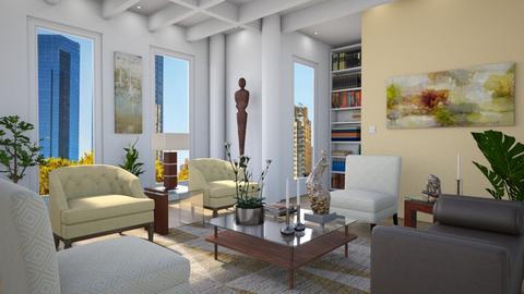 Golden - Living room - by GraceKathryn