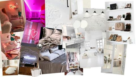 neon white bedroom - by Cheyenne2004