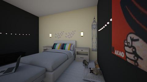 IDEAL ROOM - Retro - Bedroom - by jinjimin15