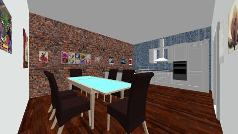 khpioh - Kitchen - by dionicholson60