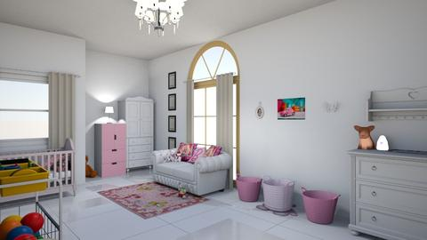 nursey - Kids room - by krystelle0012