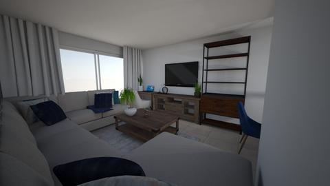 Sarah Apt 1 Living Room - Living room - by emmanuelmanny