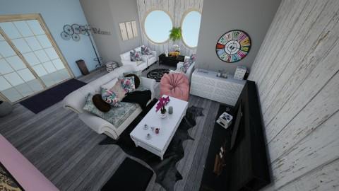 lovely - Living room - by Saoriyu