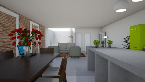 Gelijkvloers Plan C 2 - Kitchen - by pixie_16